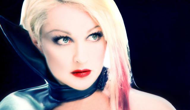 File Cyndi Blue Hair 2000 Jpg: Diva Incarnate: Celebrate Cyndi Style