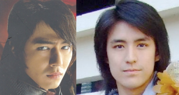 "The moment I saw Jo In-sung, I told Tatum that there's one Thai singer which resembles his face. At that time, I can't remember the name of ""Ruj"" Suparuj Taychathanon (right pic), a runner-up from Star 4 Singing Contest. They have a resemblance, don't they?"